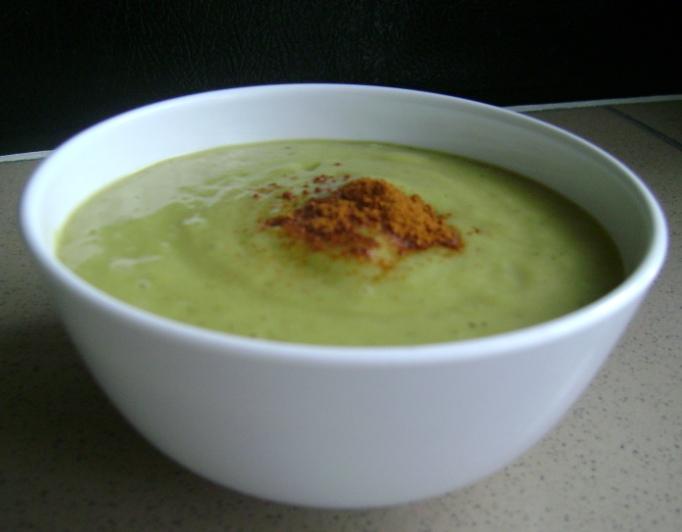 Chilled Avocado-Buttermilk Soup - VernetteOutLoud