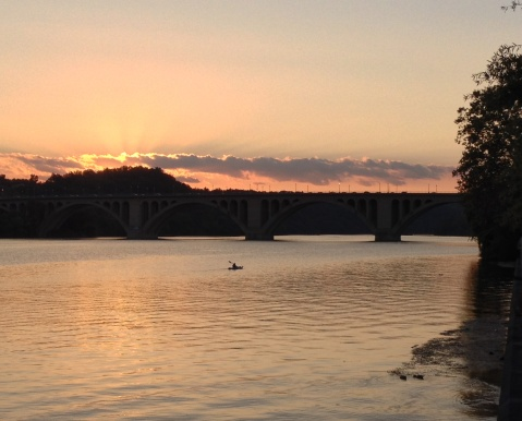 Sunset at Key Bridge